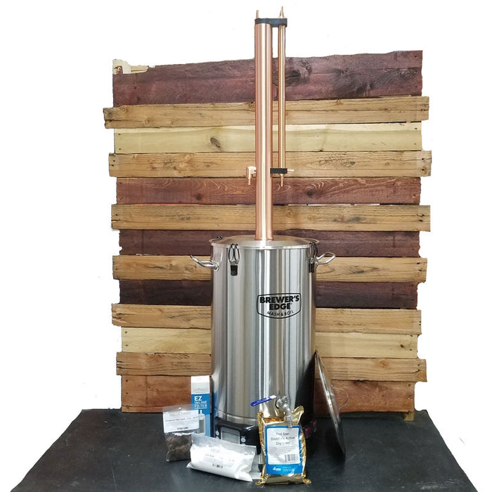 Complete Distillation Kit with Mash & Boil , Still Spirits T500 reflux column