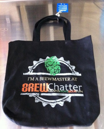 BrewChatter Tote Bag