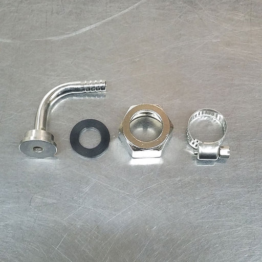 Elbow Keg Connection Kit Stainless Steel for Sanke Tap Coupler