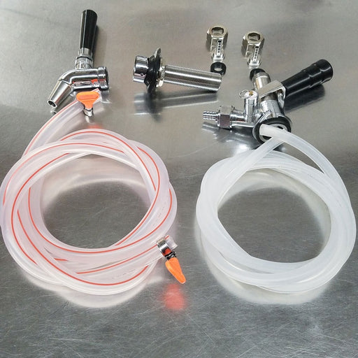 Add A Faucet Kit with SS Sanke Tap, Shanks, Intertap Faucet Complete Kit