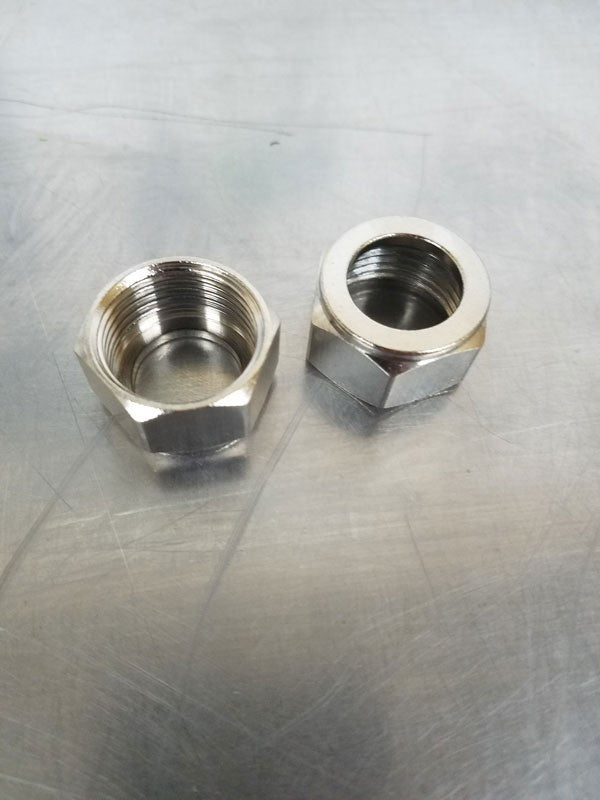 Coupling Hex Nut 1""