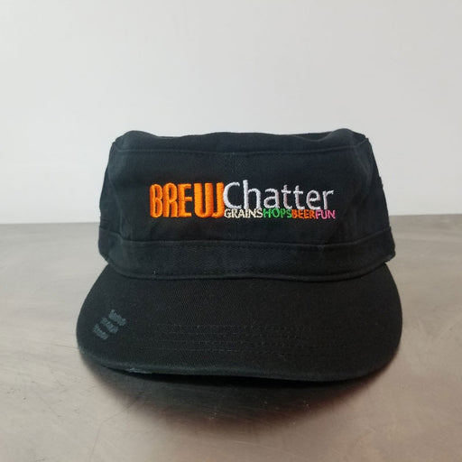 BrewChatter Ladies Military Hat, BrewChatter Apparel - BrewChatter HomeBrew Supply