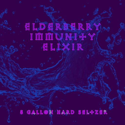 Elderberry Hard Seltzer 5 Gallon Recipe Kit with Fresh Fruit