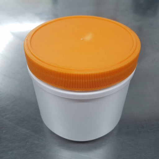1 lb capacity HDPE High Quality Jar for storage and organization