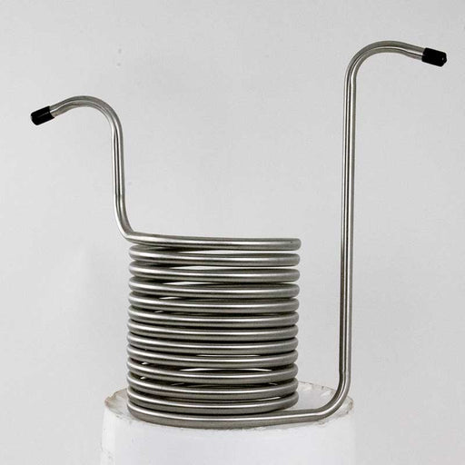 stainless steel immersion chiller for chilling home brew