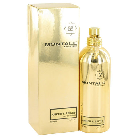 Montale Amber & Spices By Montale Eau De Parfum Spray (unisex) 3.3 Oz
