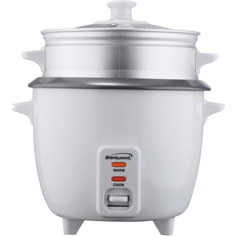 Brentwood Rice Cooker With Steamer (5 Cups, 400w)