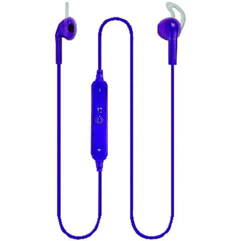 Ilive Bluetooth Earbuds With Microphone (purple)