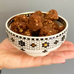 Chocolate Peanut Butter Superfood Cookie Bites