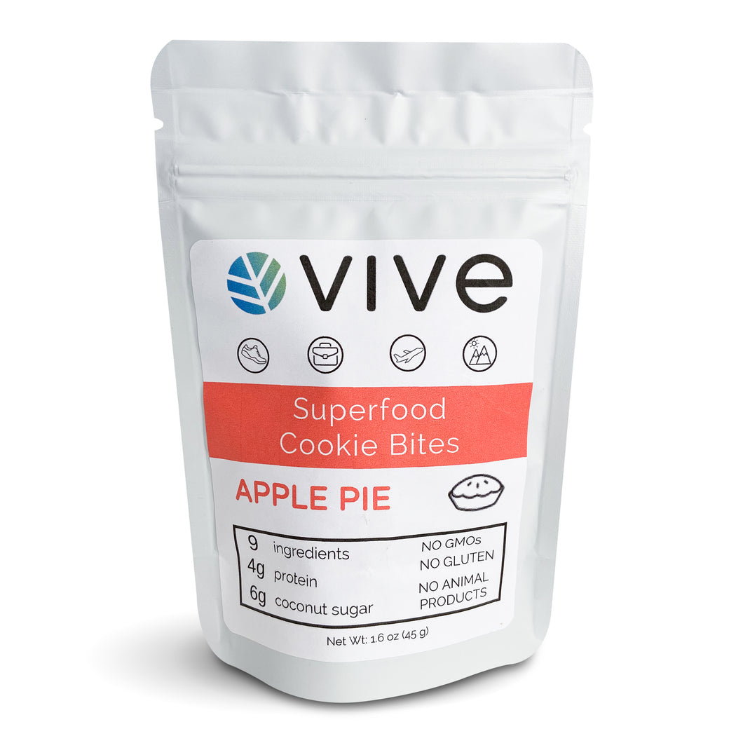 SEASONAL: Apple Pie Superfood Cookie Bites
