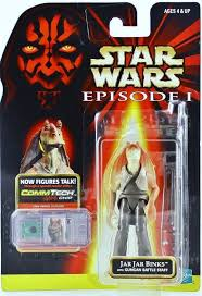 Jar Jar Binks (gungan battle staff) Coll1 EP1 1998