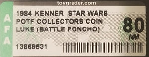 Luke (Battle Poncho) POTF Coin AFA 80