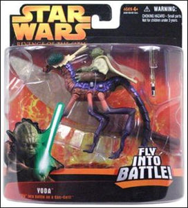 "Yoda ""Fly"" into battle on a Can-Cell"" ROTS 2005"