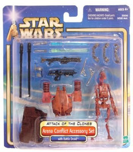 Arena Conflict Accessory Set with Battle Droid AOTC 2002