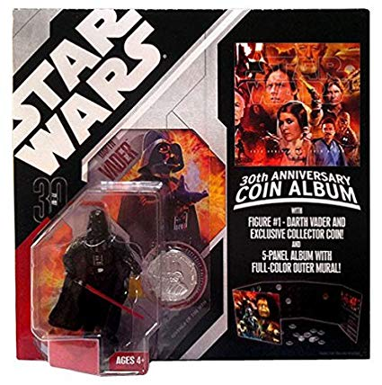 Darth Vader 01 30th ROTS w Coin Album 2007