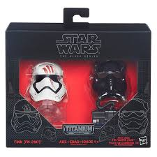 BS Helmet 05 Finn (FN-287) & FO Tie Fighter PIlot