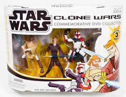 Jedi Force 3 Pack Comm Collection Cartoon Network