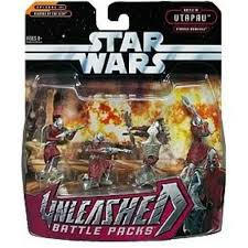 Unleashed Battle Packs Utapaun Warriors ROTS 2006