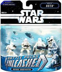 Unleashed Battle Packs Hoth Imperial Snowtroopers TESB 2006