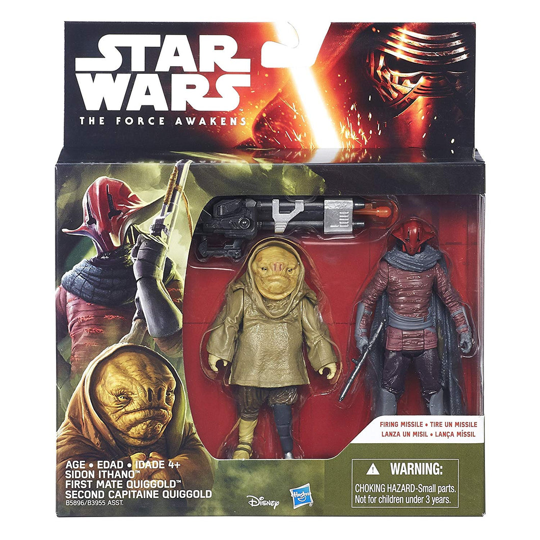 Sidon Ithano and First Mate Quiggold 2pk TFA 2015