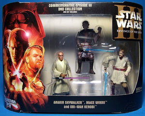 Commemorative ROTS Collection 3pk 1of3 Jedi 2005