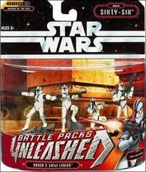 Unleashed Battle Packs Vaders 501st Legion ROTS 2006