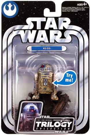 R2-D2 dirty OTC04 TESB Trilogy 2004