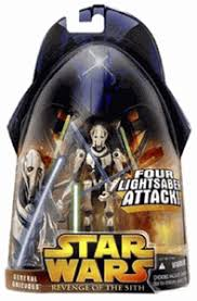 General Grievous 9 Lightsaber Attack ROTS 2005