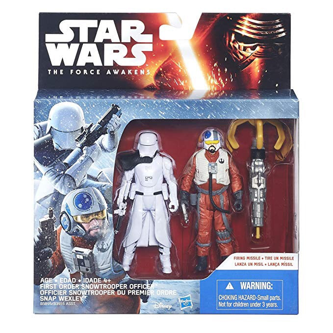 FO Snowtrooper Officer Snap Wexley 2pk