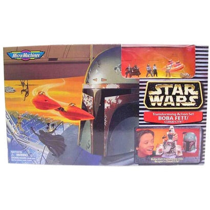 MicroMachines Boba Fett/Cloud City 1996