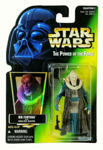 Bib Fortuna with hold-out blaster POTF 1997