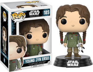 Pop 185 Young Jyn Erso Rogue One