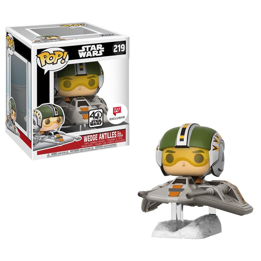 Pop 219 Wedge Antilles w/ Snowspeeder 40th Anniversary