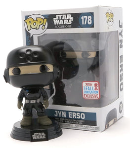 Pop 178 Jyn Erso 2017 Fall Conv Excl