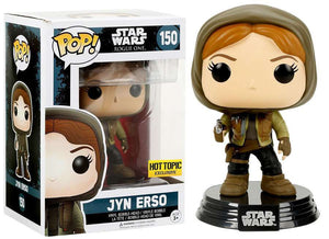 Pop 150 Jyn Erso Rogue One HT Excl