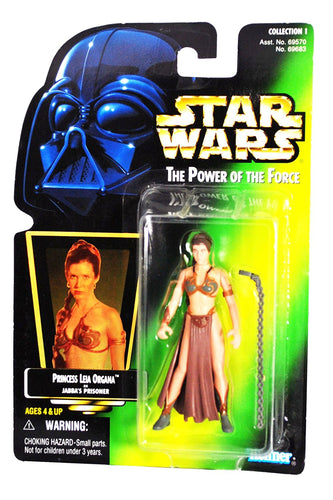 Princess Leia Organa as Jabba's Prisoner POTF 1997