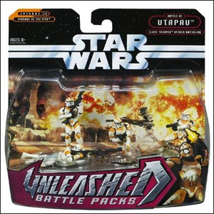 Unleashed Battle Packs Clone Troopers Attack Battalion ROTS 2006