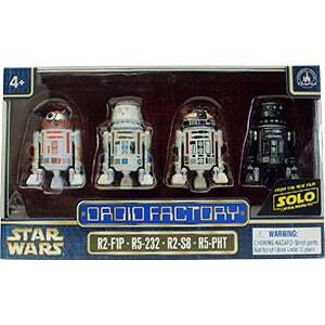 Droid Factory 4 pack: SOLO Disney Parks Exclusive