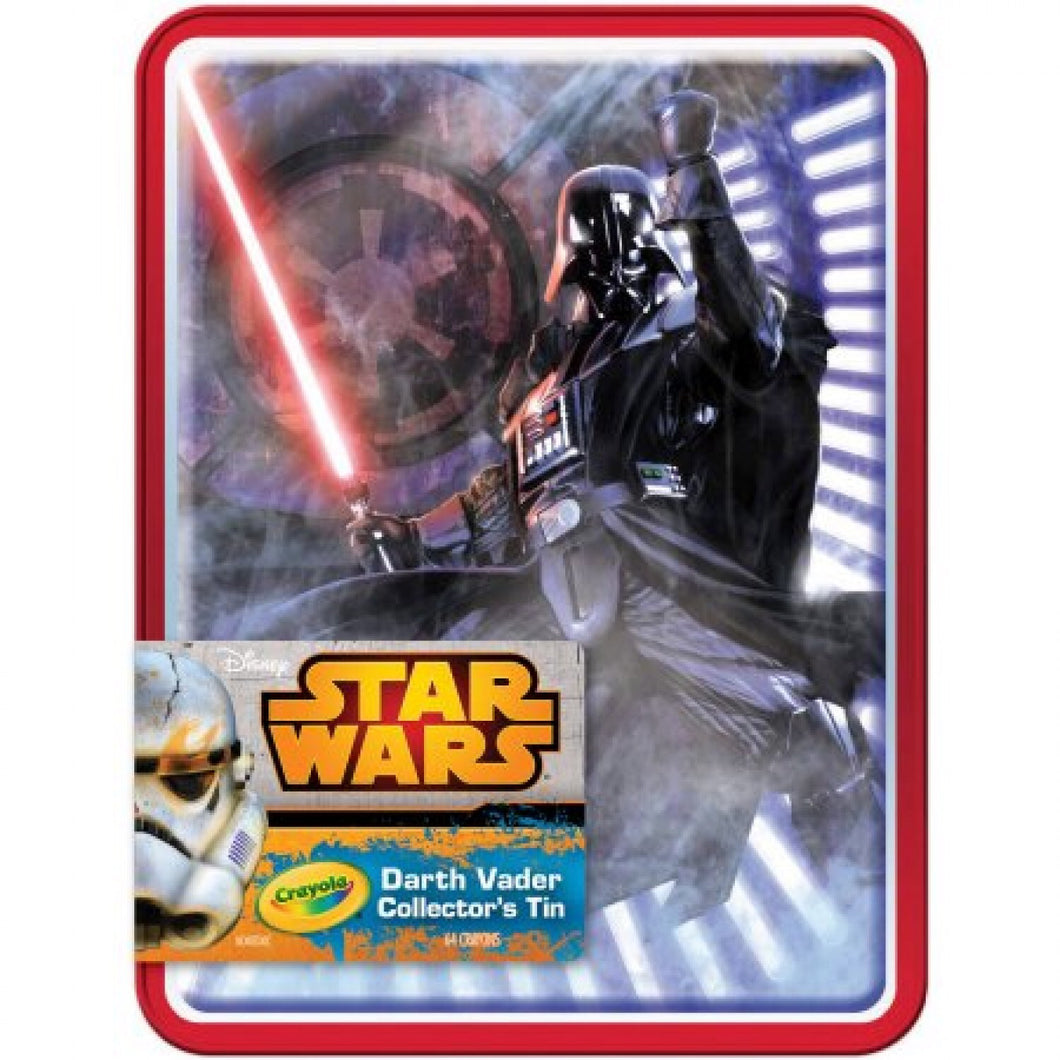 Color Crayons Vader Collectible Tin 64ct
