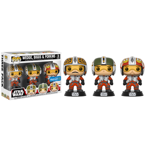 Pop 3pk Biggs, Wedge, & Porkins Wlmt Excl