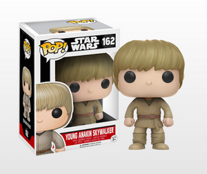 Pop 162 Young Anakin Skywalker Tgt Excl