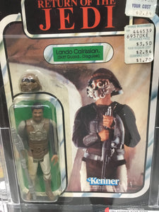 1983 Lando Calrissian (Skiff Guard Disguise) 50 50 12111953