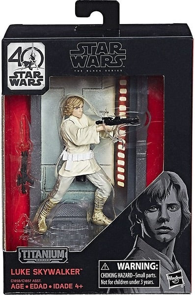 BS 03 Luke Skywalker Titanium 40th