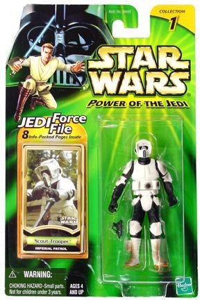 Scout Trooper Imperial Patrol Coll1 POTJ 2000