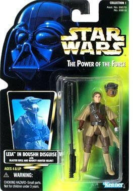Leia in Boushh Disguise POTF 1997