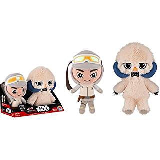 Galactic Plushies Luke Skywalker & Wampa 40th Anniversary