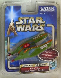 Zam Wesell's Speeder Force Link AOTC 2002