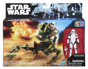 Assault Walker w stormtrooper sergeant Rogue One 2016