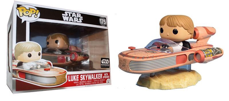 Pop 175 Luke Skywalker with Speeder Smugglers Bounty
