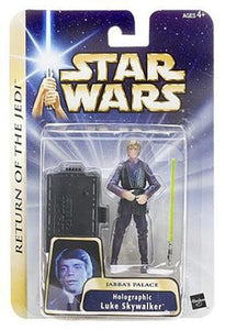 Holographic Luke Skywalker Jabba's Palace 0411 ROTJ 2004